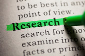Fake Dictionary, definition of the word research.