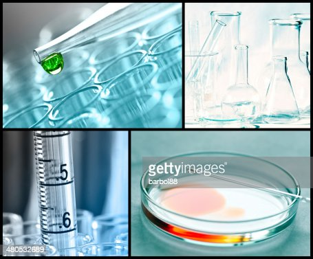 Researching equipment : Stock Photo