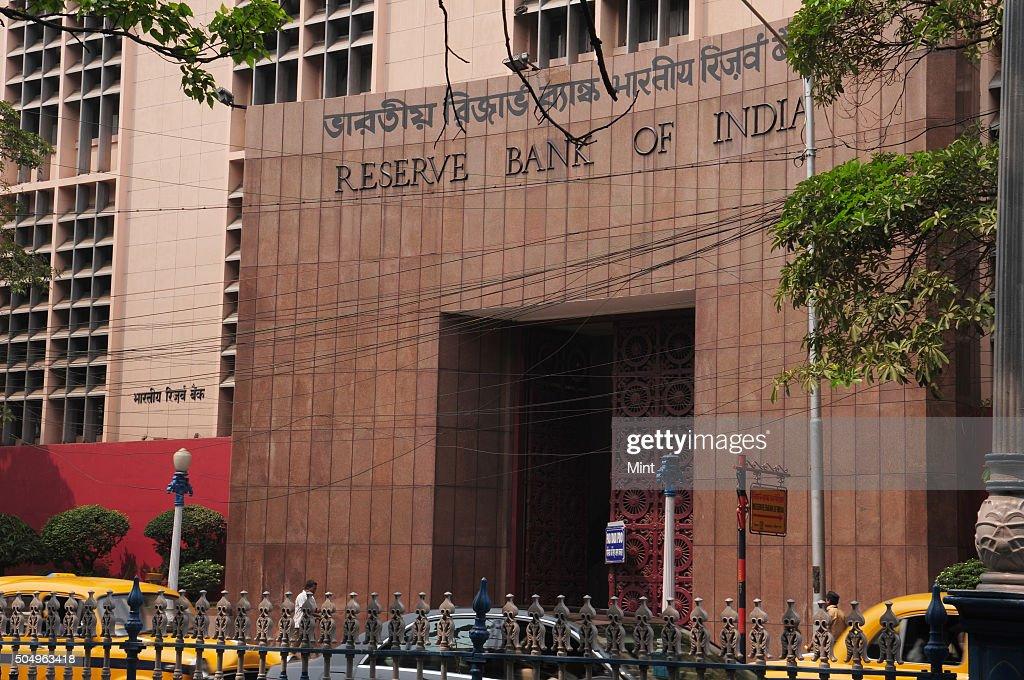 Reserve Bank of India building on Netaji Subash Road on March 27 2015 in Kolkata India