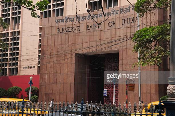 Reserve Bank of India building on Netaji Subash Road on March 27 2015 in Kolkata India