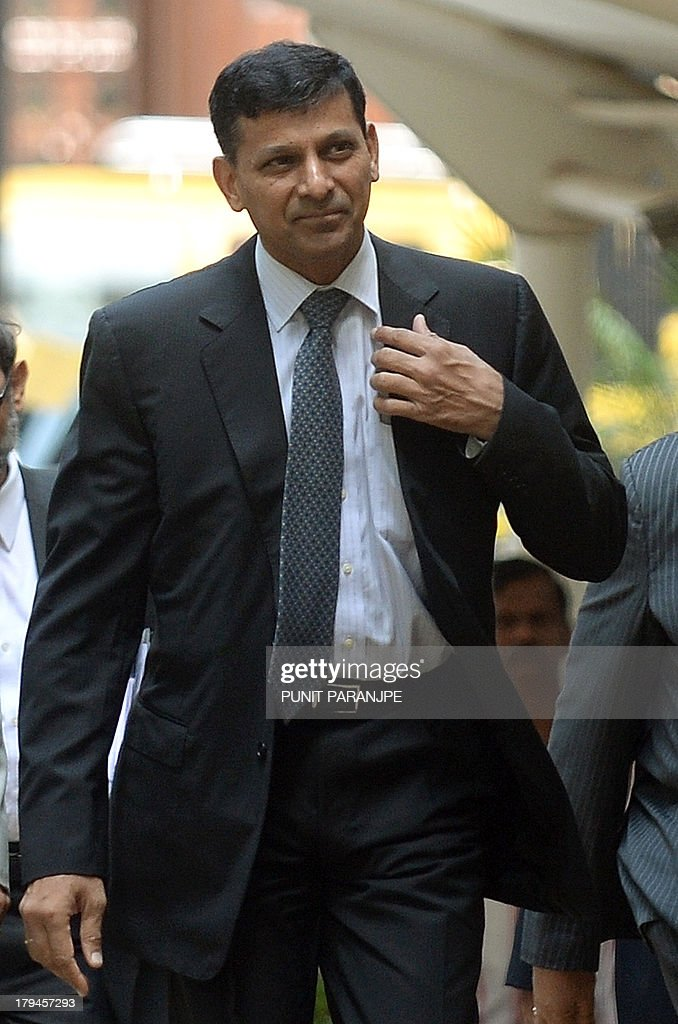 Reserve Bank of India's newly appointed governor Raghuram Rajan arrives at the RBI headquarters in Mumbai on September 4 2013 Top economist Raghuram...