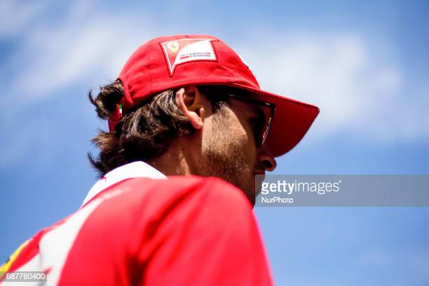 Reserve driver GIOVINAZZI Antonio from Italy of Ferrari SF70H team scuderia Ferrari portrait action during the Monaco Grand Prix of the FIA Formula 1...