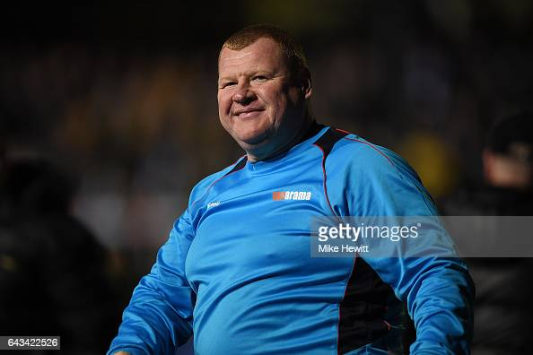 Reserve goalkeeper Wayne Shaw of Sutton acknowledges the crowd after The Emirates FA Cup Fifth Round match between Sutton United and Arsenal at...