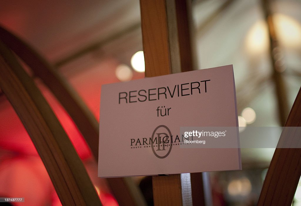 A 'reserved' sign hangs in the VIP tent at the annual Klosters Snow Polo event in Klosters, Switzerland, on Friday, Jan. 20, 2012. German Chancellor Angela Merkel will open next week's World Economic Forum in Davos, Switzerland, which will be attended by policy makers and business leaders including U.S. Treasury Secretary Timothy F. Geithner. Photographer: Scott Eells/Bloomberg via Getty Images