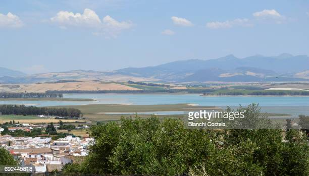 Reservoir of Bornos in Cadiz Andalusia
