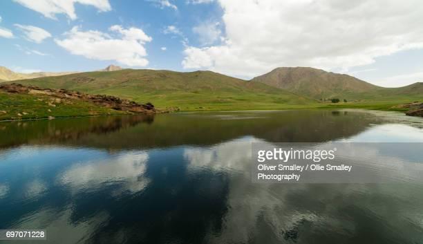 Reservoir Reflections - Oukaimeden, Morocco