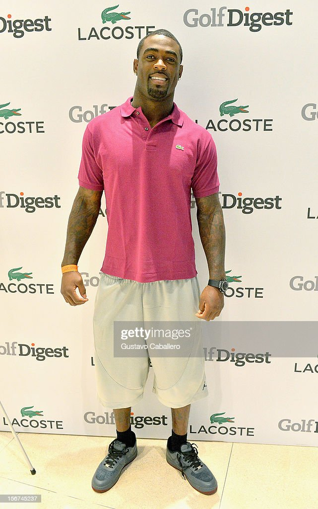 Reshad Jones attends the Lacoste & Golf Digest Celebrate Links On Lincoln Honoring Cristie Kerron November 19, 2012 in Miami, Florida.