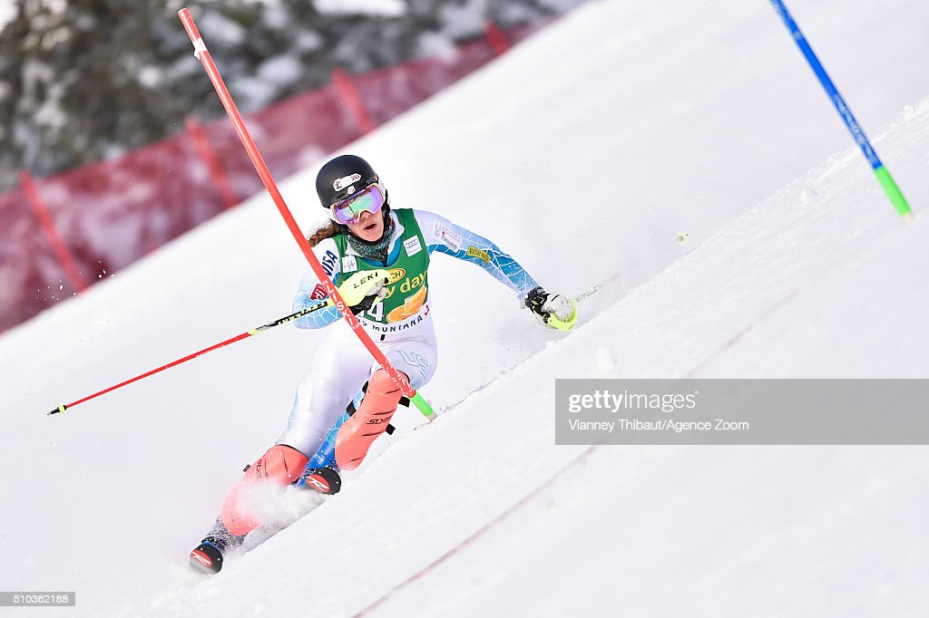 Of the usa competes during the audi fis alpine ski world cup women s