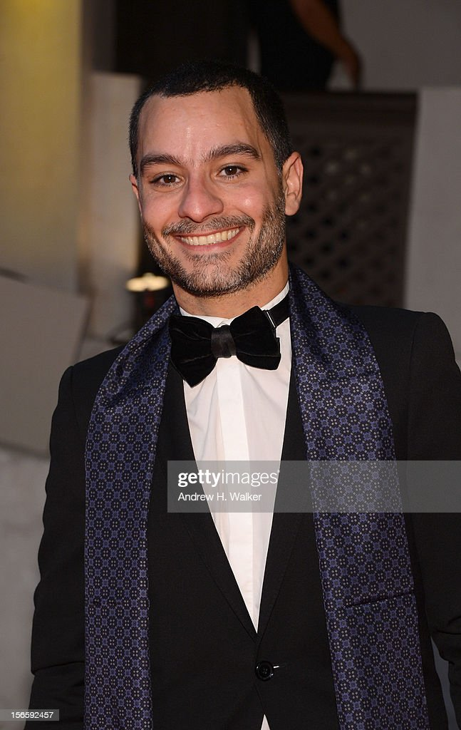 Resident Filmmaker and Programmer Chadi Zeneddine attends the opening night ceremony and gala screening of 'The Reluctant Fundamentalist' during the 2012 Doha Tribeca Film Festival at Al Mirqab Hotel on November 17, 2012 in Doha, Qatar.
