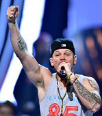 Residente Calle 13 performs onstage during rehearsals for the 15th annual Latin GRAMMY Awards at the MGM Grand Garden Arena on November 18 2014 in...