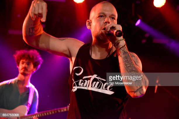 Residente performs during the YouTube @ SXSW showcase at the Coppertank during the 2017 SXSW Conference And Festivals on March 17 2017 in Austin Texas