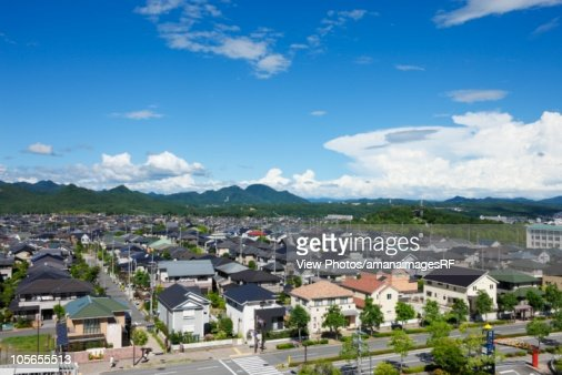 Residential Area. Hyogo Prefecture, Japan
