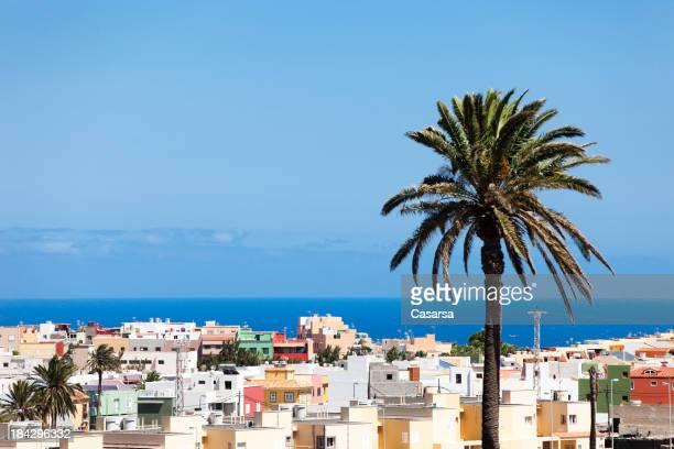 Zona residencial de Gran Canaria