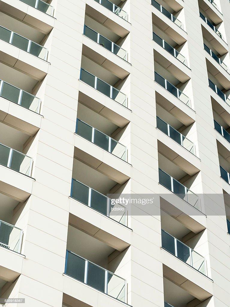 Residential building facade : Stock Photo