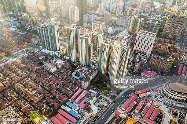 Residential buildings in Shanghai