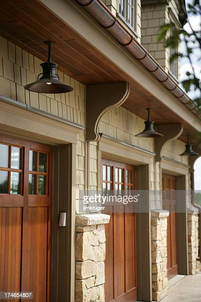 Residential garage doors.