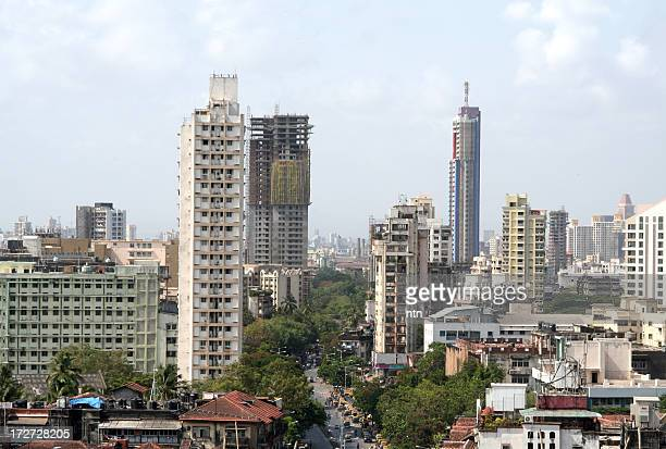 Residential high rises in Mumbai