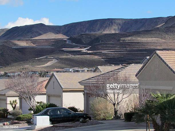 Residential homes stand in Henderson Nevada US on Sunday Feb 20 2011 When the housing bubble burst in 2008 it left Nevada with foreclosures...