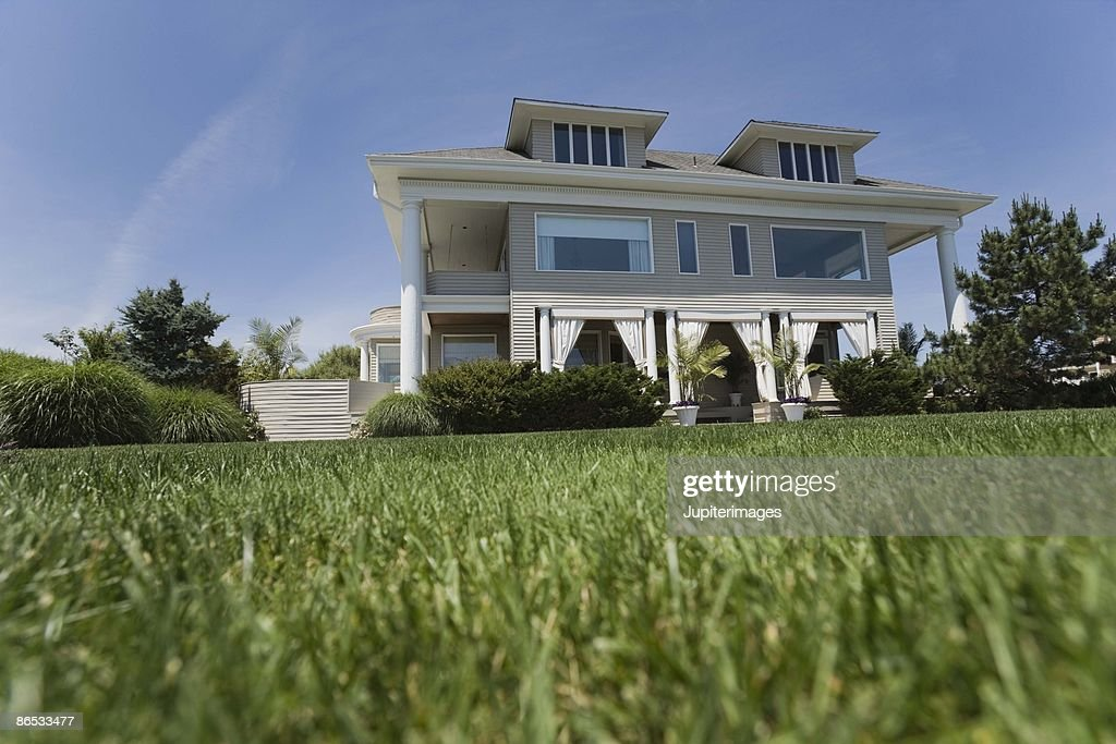 Residential house exterior : Stock Photo