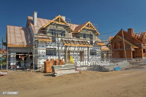 Maison en construction résidentielle