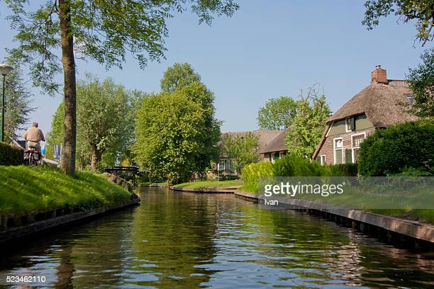 Residential Houses  In Giethoorn Village