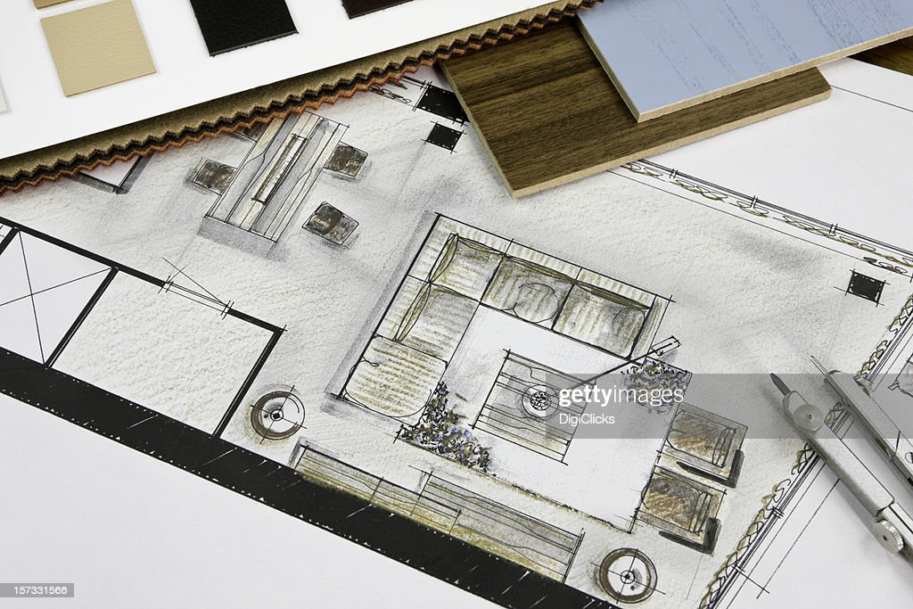 Residential Living Room Concept : Stock Photo