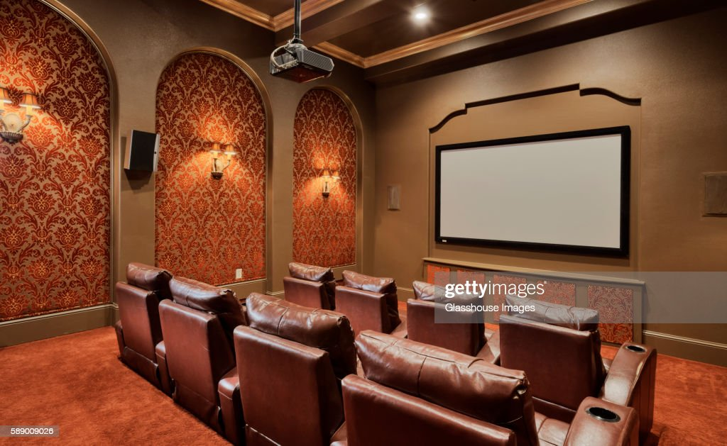 Residential Media Room