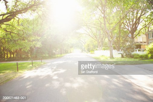 Residential neighborhood : Foto de stock