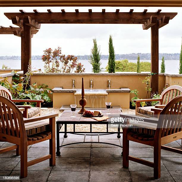 Residential outdoor living space