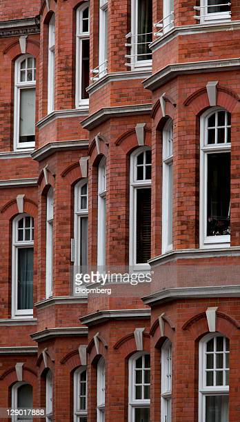 Residential properties are seen in Mayfair London UK on Monday Oct 10 2011 London was one of only two regions tracked by property researcher...