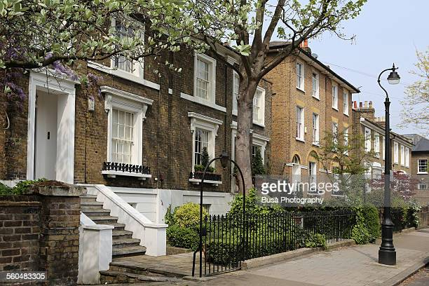 Residential street near Stockwell