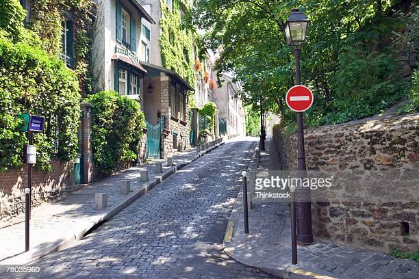 Residential street, Paris
