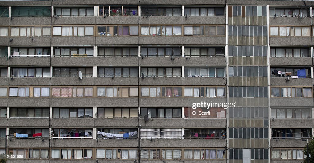 A residential tower block in an area of Southwark with a high concentration of social housing on August 28, 2014 in London, England. A report from the Department for Communities and Local Government has shown a significant increase in the sales of social housing under the government's Right to Buy scheme.