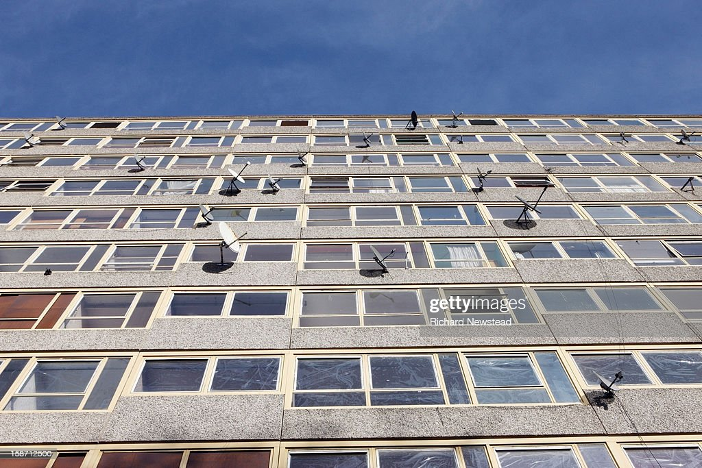 Residential Tower Block : Stock Photo
