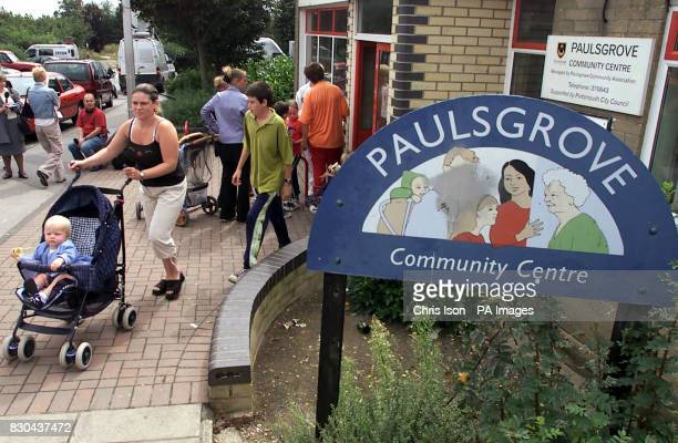 Residents from the Paulsgrove estate in Portsmouth leave the meeting after they faced civic leaders at their local community centre They were asked...