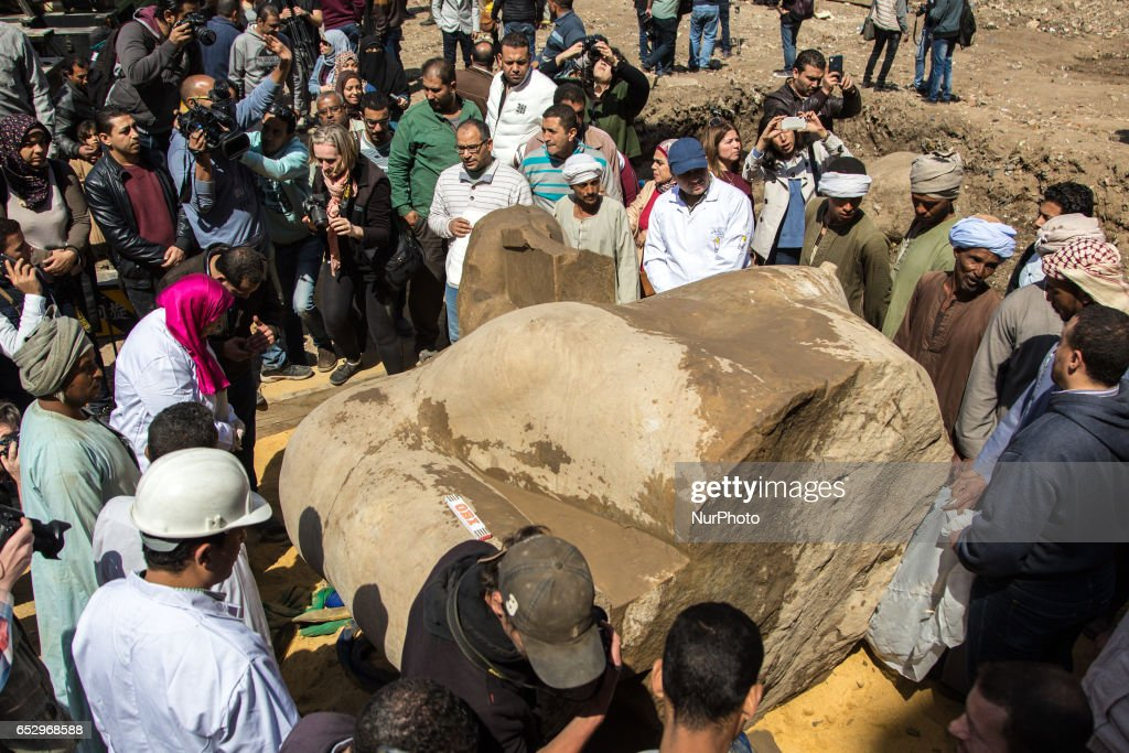 Parts of buried Ramses II Temple discovered in Egypt