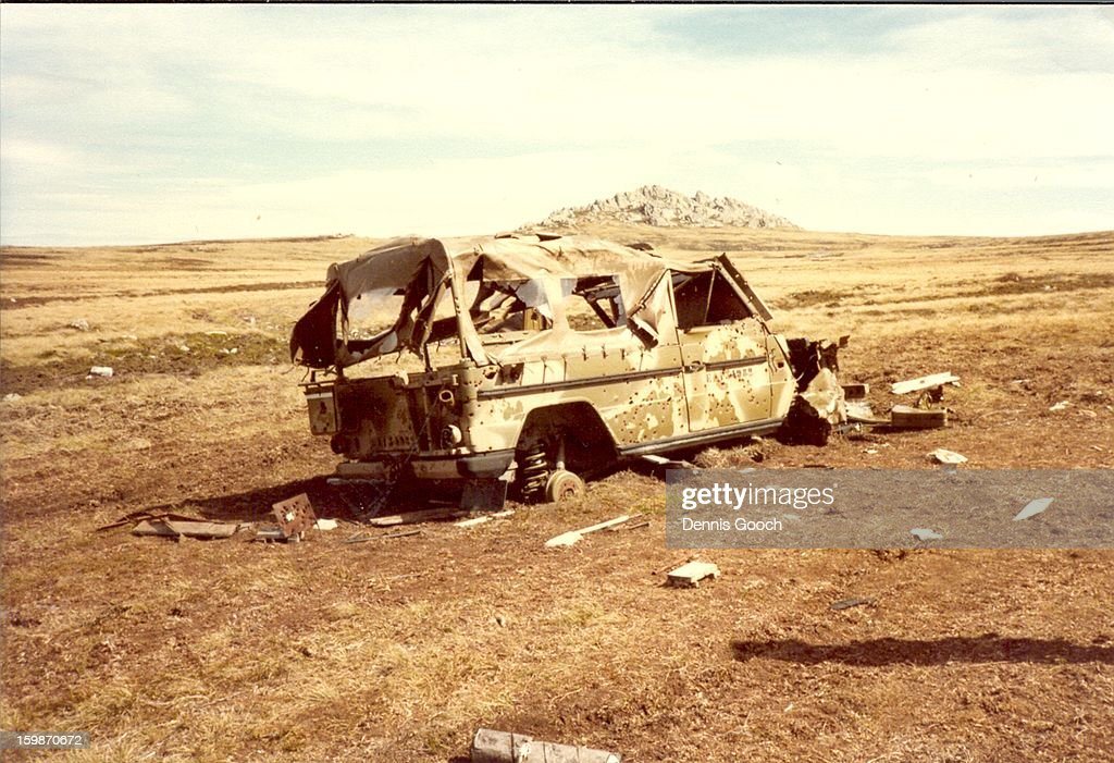 CONTENT] Residue of war. Outside Stanley.October 1983
