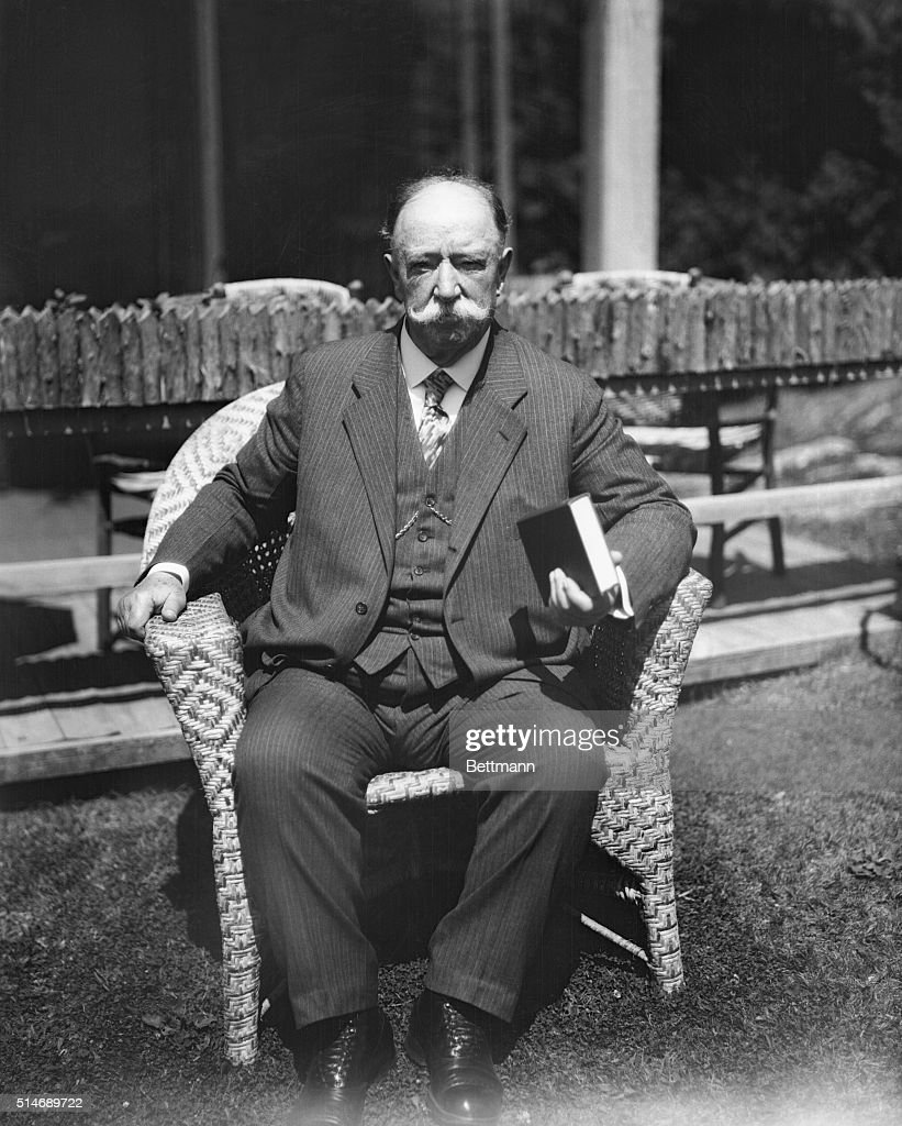 william h taft at his summer home pictures getty images resignation of william howard taft as chief of justice of the supreme court was