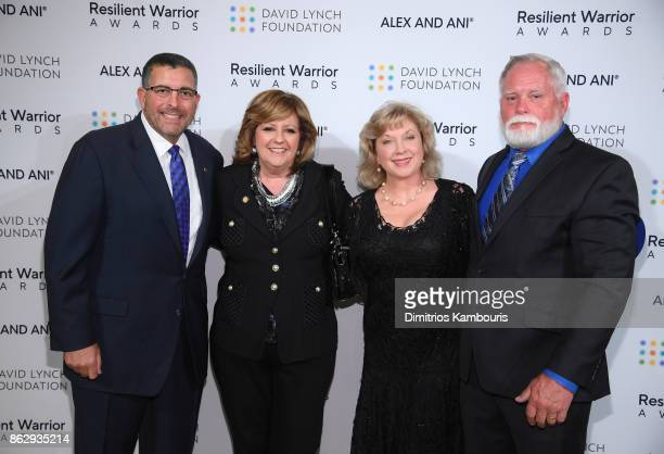 Resilient Warrior Award Honoree Founder of Boulder Crest Retreat for Wounded Warriors Ken Falke Dusty Baxley and guests attend during 'Change Begins...