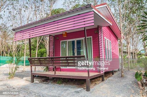 Resort bungalow in Thailand : Stock Photo