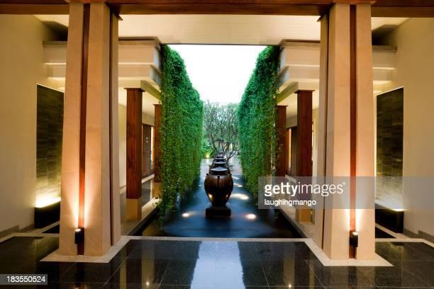 resort hotel lobby phuket thailand