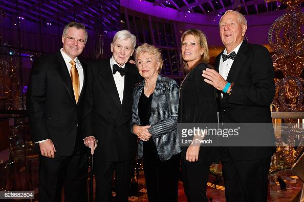 Resorts International Chairman and CEO Jim Murren John Warner and guests attend the MGM National Harbor Grand Opening Gala on December 8 2016 in...