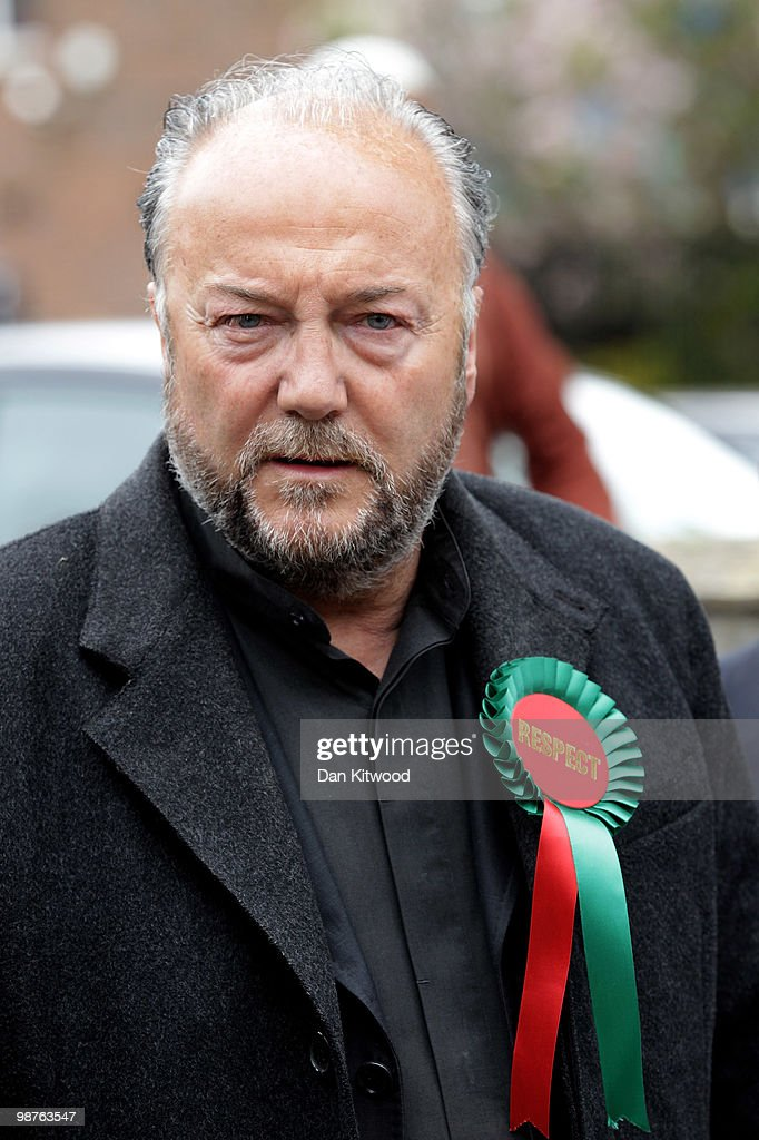 George Galloway Leads The Respect Party Campaign Around East London