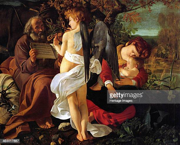 Rest on the Flight into Egypt ca 1597 Found in the collection of the Palazzo Doria Pamphilj Rome