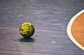 Half time during handball