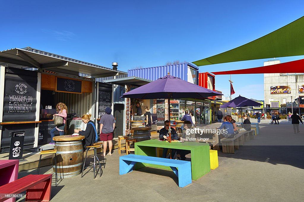 Re:START container shopping precinct