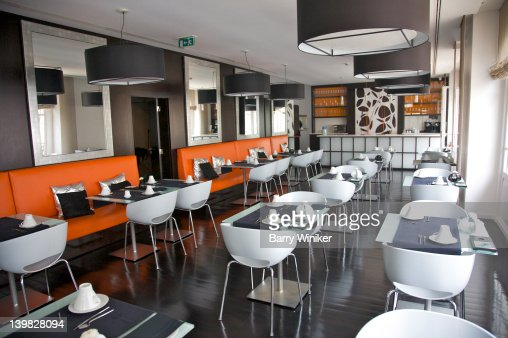 restaurant at international design hotel lisbon portugal stock photo getty images. Black Bedroom Furniture Sets. Home Design Ideas