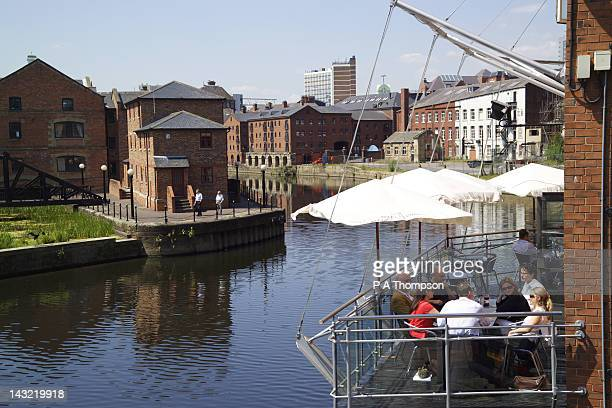 Restaurant, Brewery Wharf, Leeds, Yorkshire, England