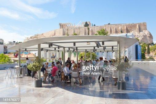 Athen und urlaub stock fotos und bilder getty images for Acropolis cuisine