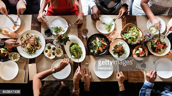 Restaurant Chilling Out Classy Lifestyle Reserved Concept : Stock Photo